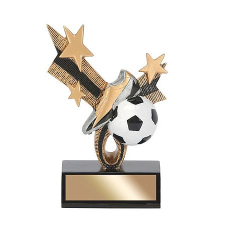 "6"" Soccer Top Star Resin"