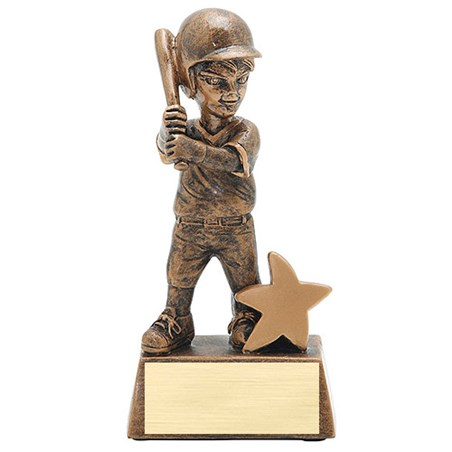 "5"" Junior Star Baseball Resin"