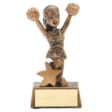 5 in Junior Star Cheer Resin
