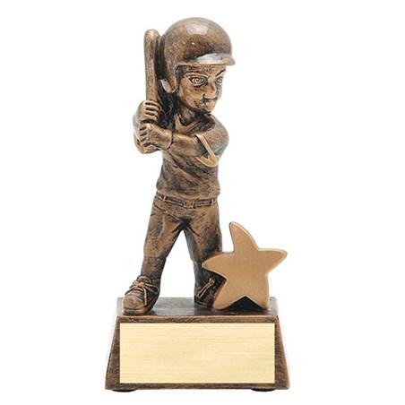 5 in Junior Star Softball Resin