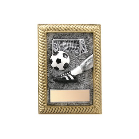 5 in x 7 in Soccer Resin Trophy