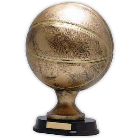 12 in Resin Sculptured Basketball Trophy
