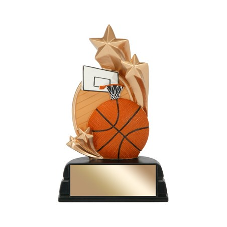 6 in Basketball Trophy Star Series