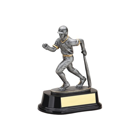 "6 1/2"" Resin Sculpture Baseball Trophy"