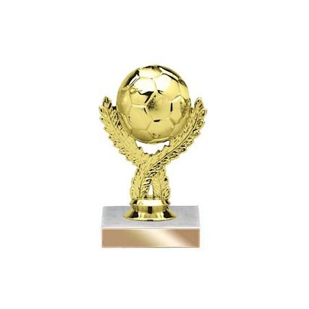5-3/4 in Golden Soccerball Trophy