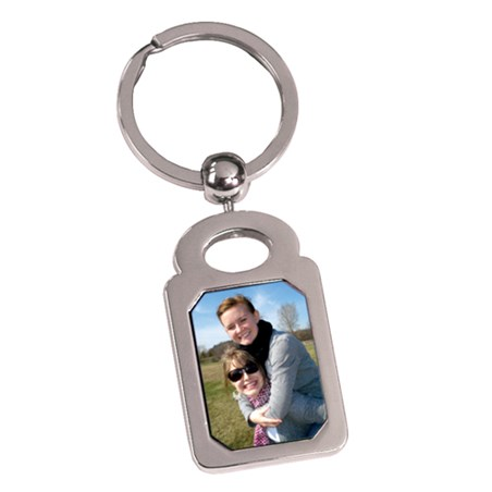 3 in Keychain w/ Custom Insert