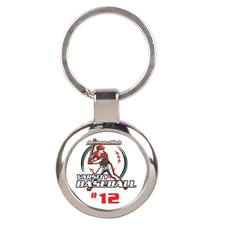 "3"" Keychain w/ Custom Insert"