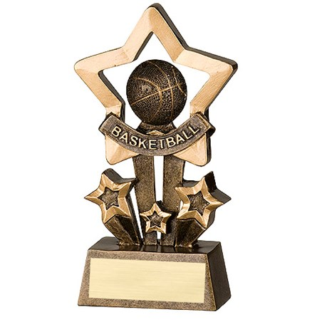 "4.5"" Basketball Star Resin"
