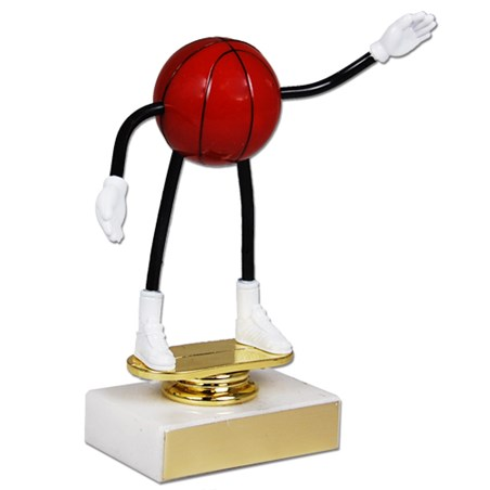 Moveable Basketball Trophy