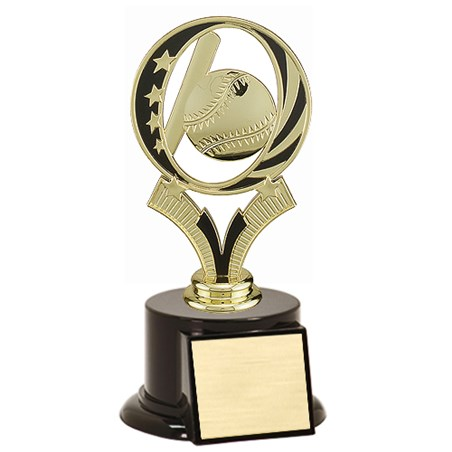 7 in Midnite Star Baseball Trophy