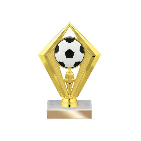 6-3/4 in Diamond Soccer Trophy