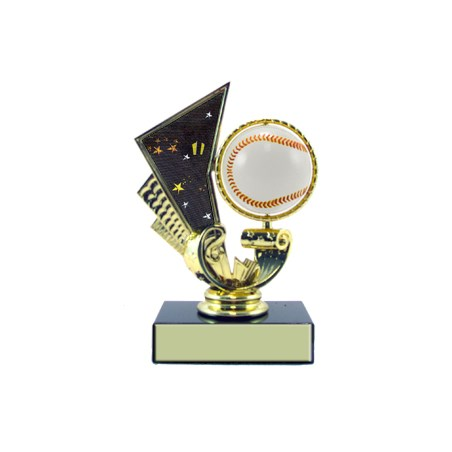 "5-1/4"" Baseball Trophy Spinner"