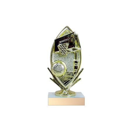 "6-3/4"" Participation Basketball Trophy"