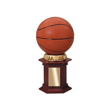 "12"" Basketball Resin Trophy"