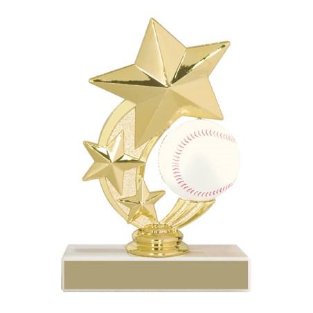 5 3/4 in Baseball Trophy
