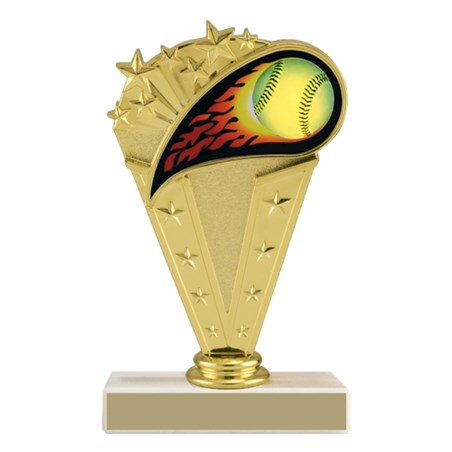 6-3/4 in Softball Trophy