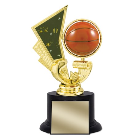 6-1/2 in Basketball Trophy