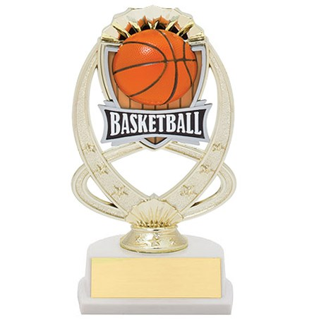 7.5 in Basketball Theme Trophy
