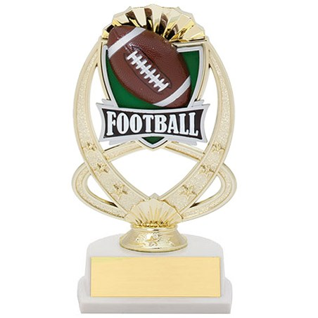 "7.5"" Football Theme Trophy"