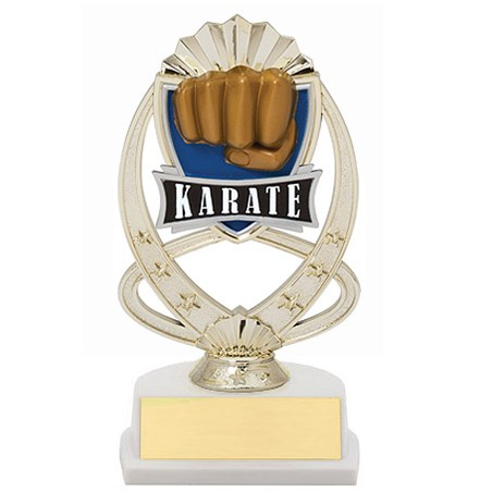 "7.5"" Karate Theme Trophy"