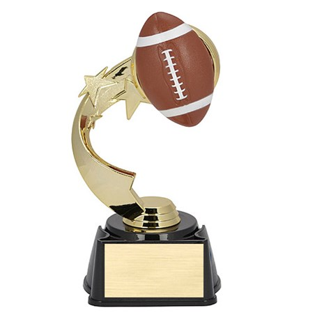 7 in Ribbon Star Football Trophy