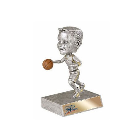 "5.5"" Basketball Bobble Head - Male"