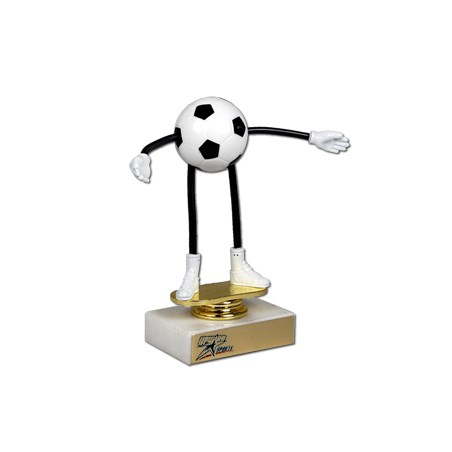 Flexible Soccer Trophy