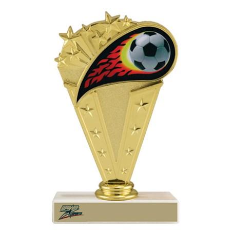 """6-3/4"""" Soccer Trophy"""