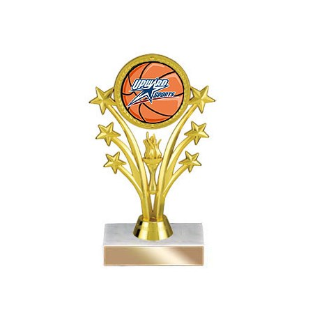 "6-3/4"" Shooting Star Insert Trophy"