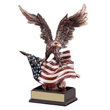 Resin Eagle Award Statue