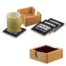 Laserable Ceramic Coaster Set - 3 Colors