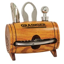 Wine Barrel 4 Piece Tool Set