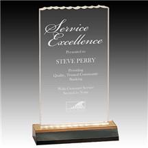 Ice Top Acrylic Award - 3 Sizes