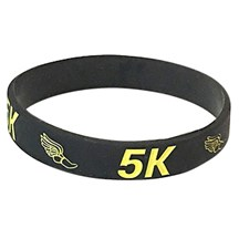 5K Silicone wrist Band