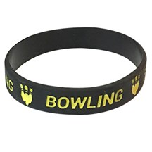 Bowling Silicone Wrist Band