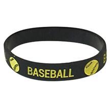 Baseball Silicone Wrist Band