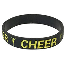 Cheer Silicone Wrist Band
