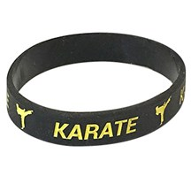 Karate Silicone Wrist Band