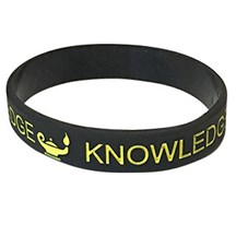 Knowledge Silicone Wrist Band