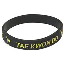 Tae Kwon Do Silicone Wrist Band
