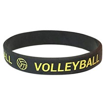 Volleyball Silicone Wrist Band