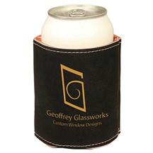Black Leatherette Beverage Holder