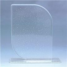 7 x 10 Glass Award w/ Base