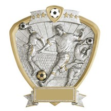 Soccer Resin Shield