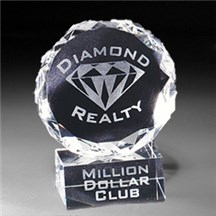 Optic Crystal Diamond Award