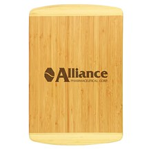 2 Tone Rectangle Bamboo Cutting Board