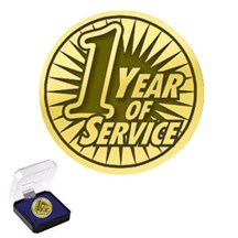 1, 5, 10 Years of Service