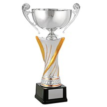 Gold & Silver Trophy Cup - 3 Sizes