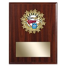 Star Frame Coach Plaque