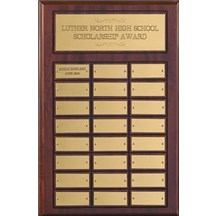 Multi Year Perpetual Plaque  12